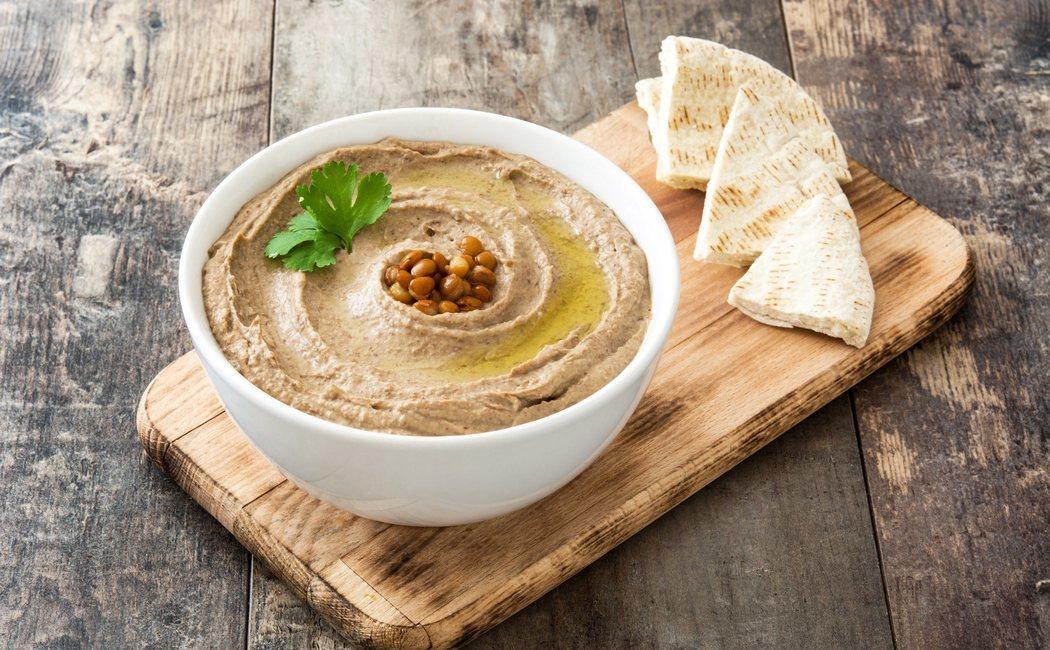 Cómo hacer humus vegano
