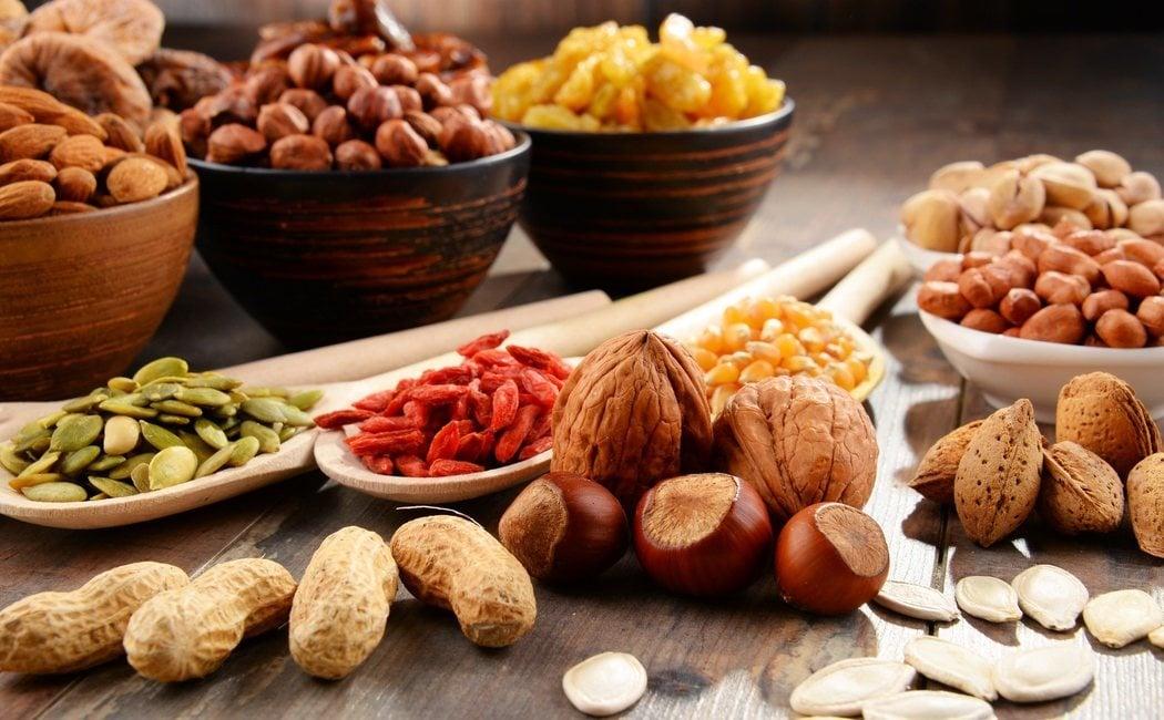 ¿Qué frutos secos engordan más?