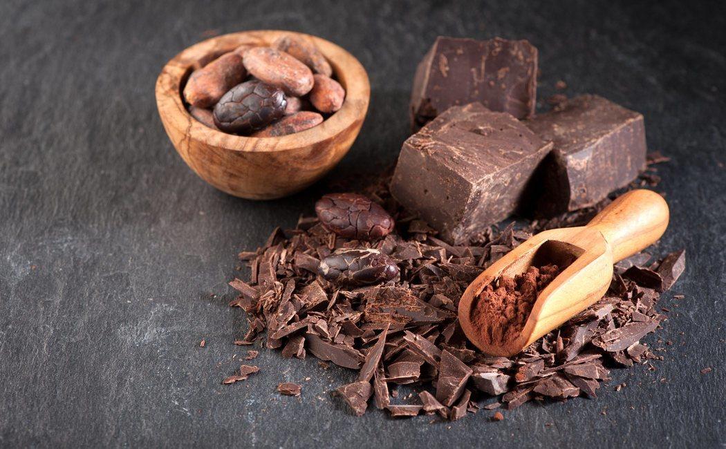Calorías del chocolate negro