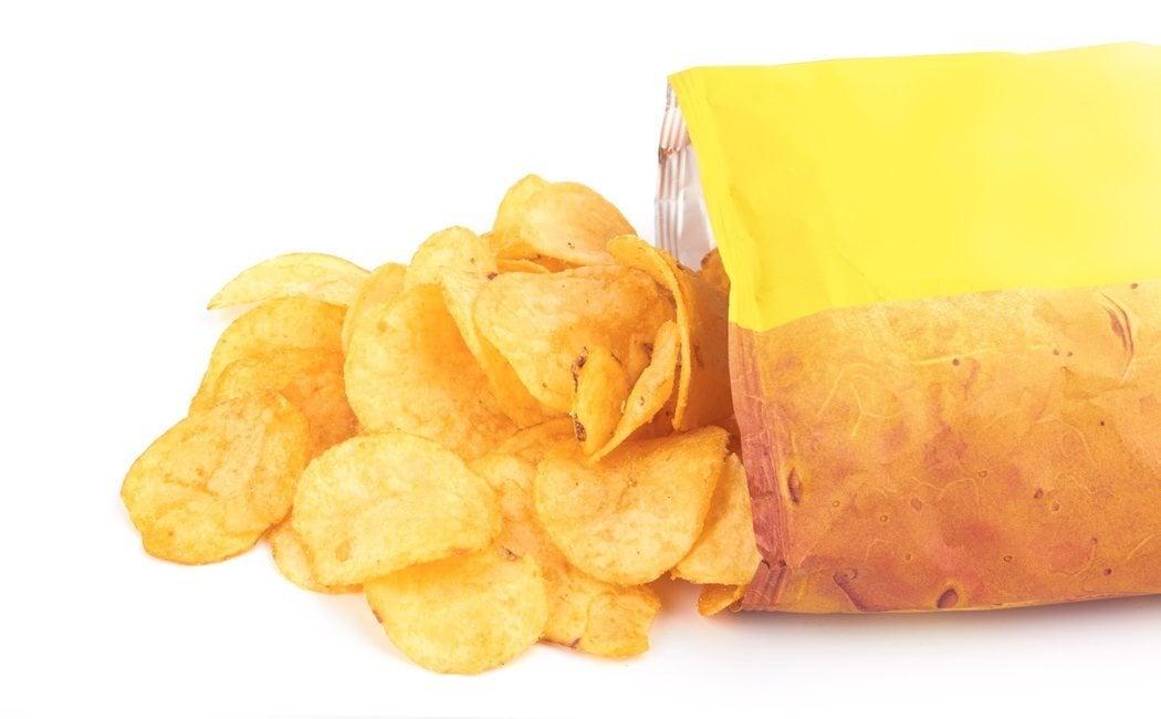 ¿Cuánto engorda una bolsa de patatas fritas?