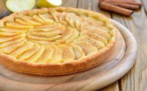 Calorías de la tarta de manzana