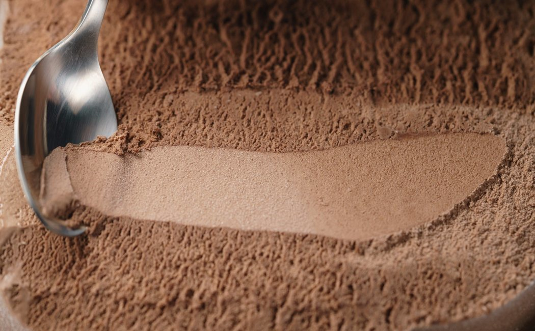 Receta de helado de chocolate healthy