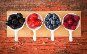 Beneficios de comer frutos rojos