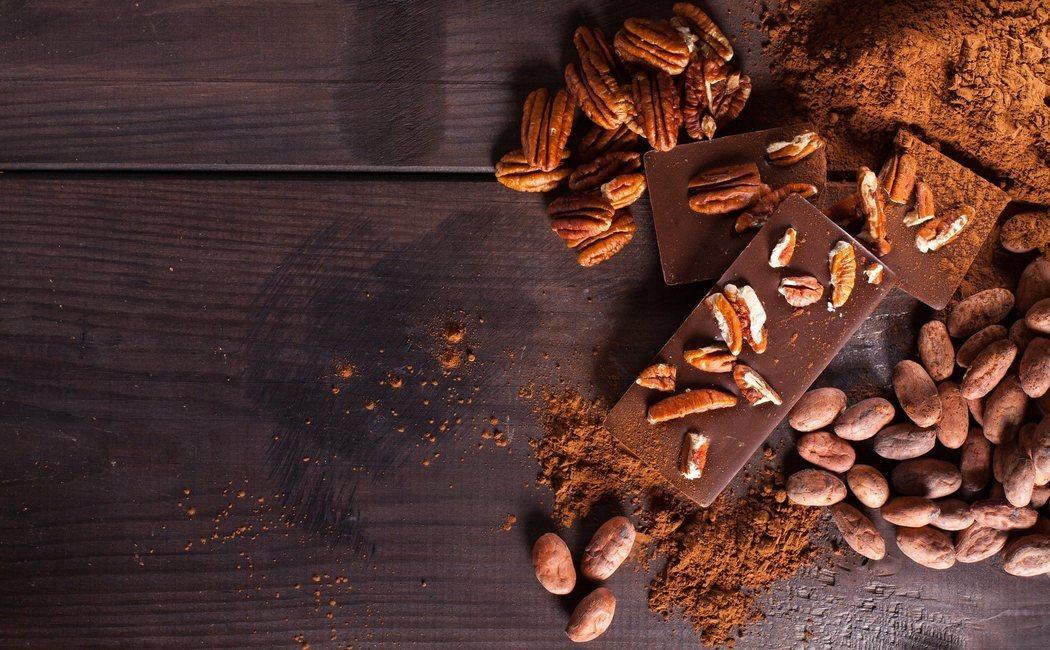 Calorías del turrón de chocolate