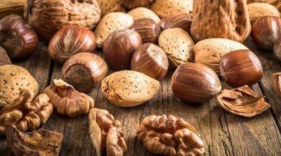 Los frutos secos con más calorías