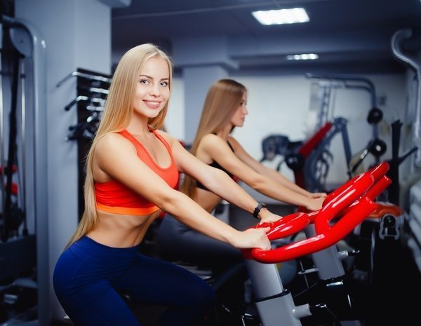 perder peso en la bici estatica