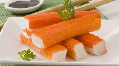 ¿Son sanos los palitos de cangrejo?