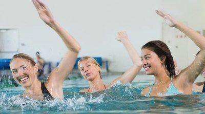 Adelgazar en la piscina: tabla de ejercicios