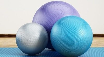 Tonificar glúteos con fitball