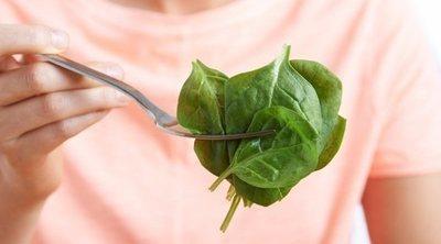 5 recetas fit con espinacas