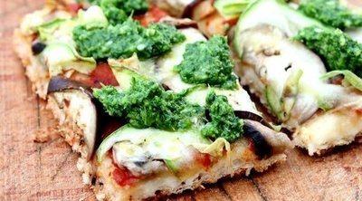Pizza casera saludable